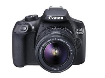 Canon EOS 1300D con EF-S 18-55 ISII al 26,02% di sconto!