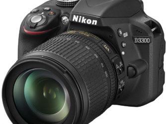 NIKON D3300 18-105 VR scontata del 22,9% Trony!