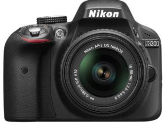 Nikon D3300 + 18–55mm f/3.5–5.6G II scontato del 20% da Trony!