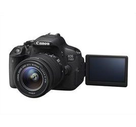 CANON Kit EOS 700D+ EF 18-55 IS STM Black scontata del 28,61% da Euronics!