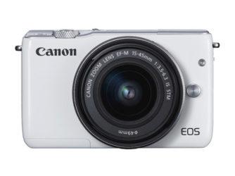 CANON EOS M10 White + EFM15-45MM scontata del 20,46% da Mediaworld!