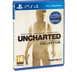 Uncharted The Nathan Drake Collection PS4 scontato del 25,01% su Euronics!