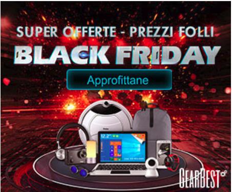 GearBest Black Friday! Ecco le migliori offerte!