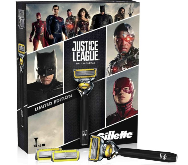 Gillette lancia lo special pack in limited edition dedicato a Justice League!