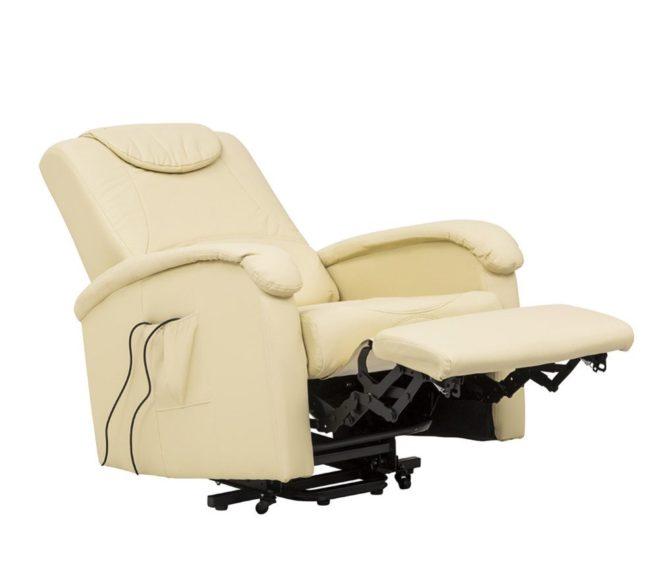 Poltrona Relax con meccanismo elettrico e modulo massaggiante